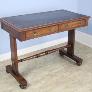 Mahogany Leather Topped Regency Writing Desk
