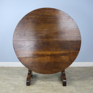 Antique Oak Vendange or Wine Tasting Table